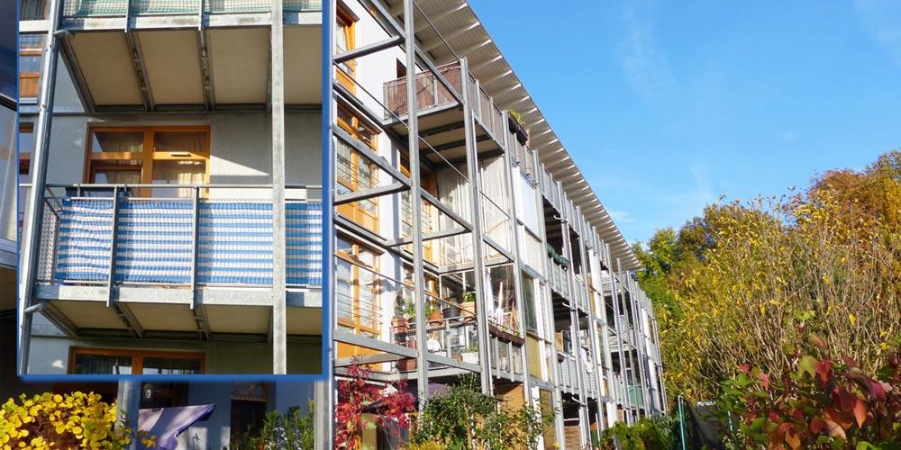 Balkonböden aus Mineralguss der Firma mineralit GmbH