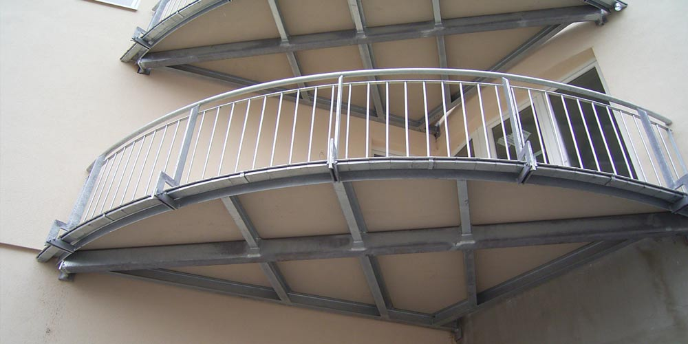 individuelle Balkonbodenplattenkonstruktion