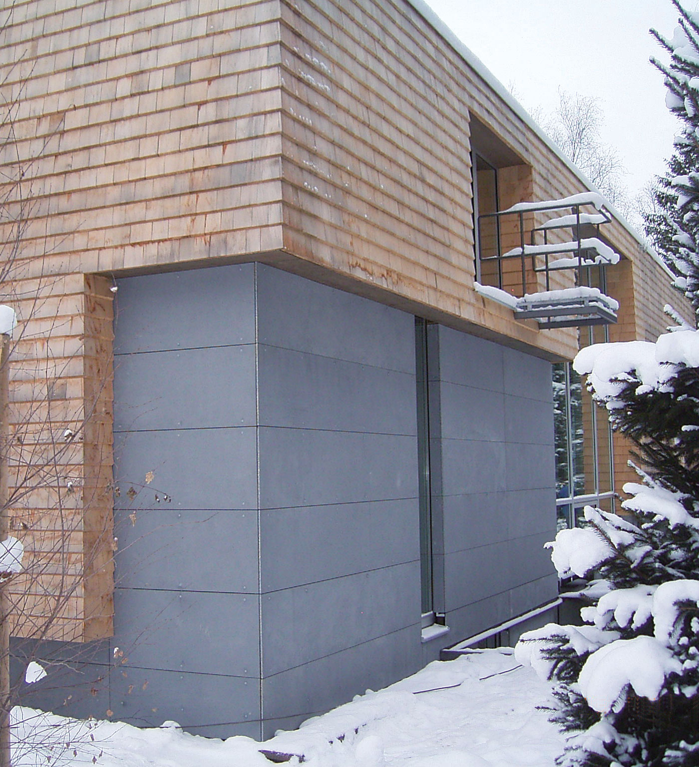 mineralit Fassadenplatten