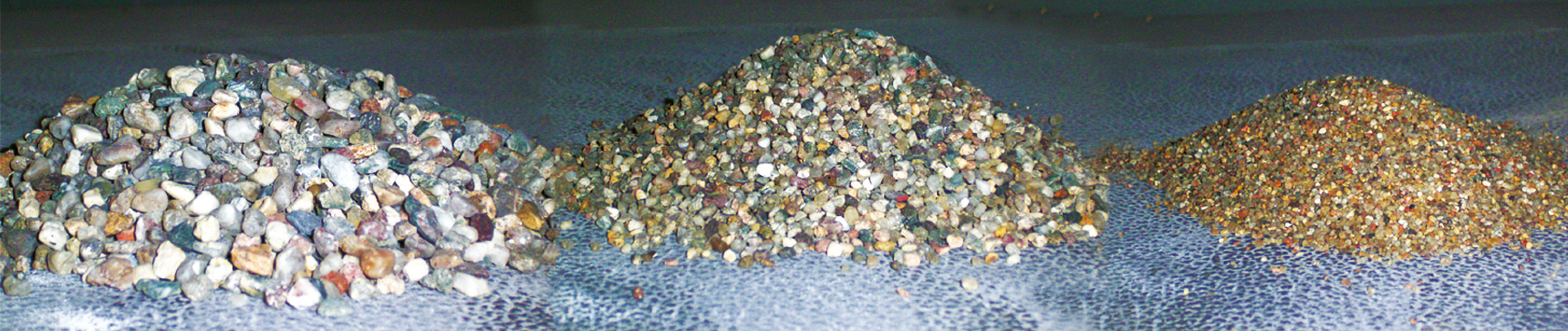 hochfeste Quarzsande als Hauptbestandteil von Mineralit