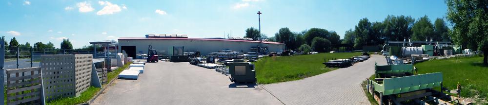 Standort der Firma mineralit - Mineralgusswerk aus Laage