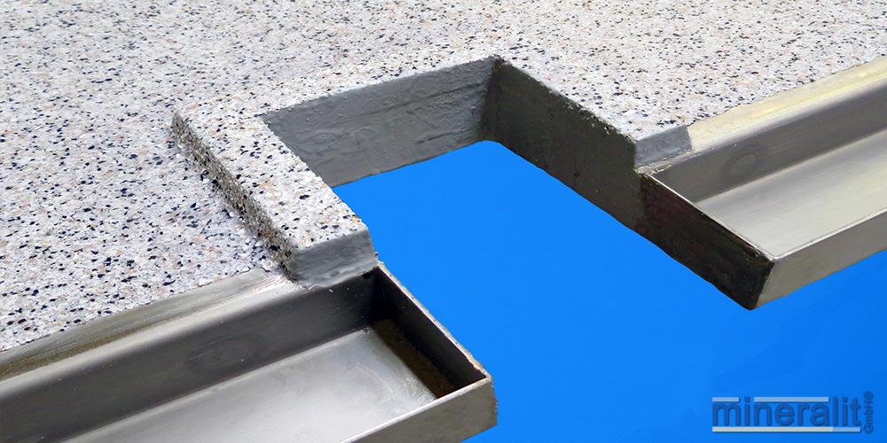 mineralit-Ausklinkungen-Balkonplatte