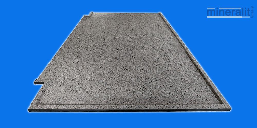 mineralit-Balkonbodenplatte