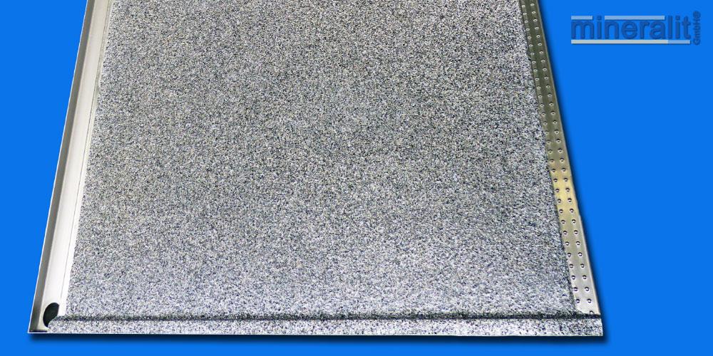 mineralit-Balkonbodenplattenelement