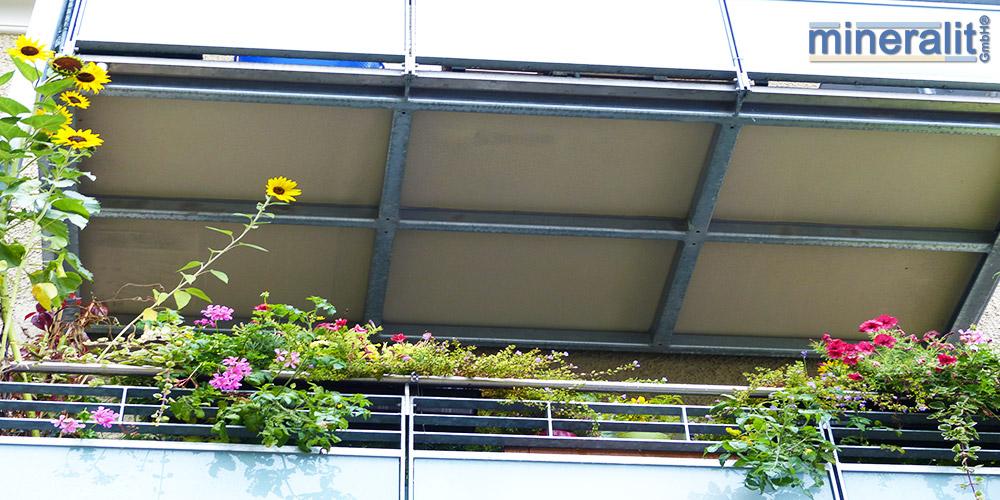 umweltfreundliche Balkonkonstruktionen