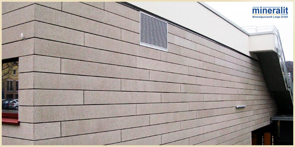 mineralit-Fassadenelemente