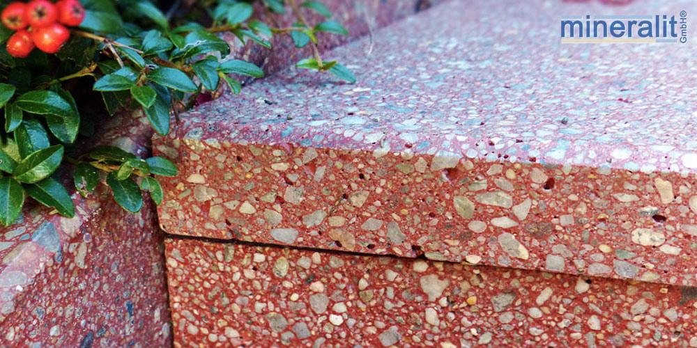 mineralit-Treppenbelag