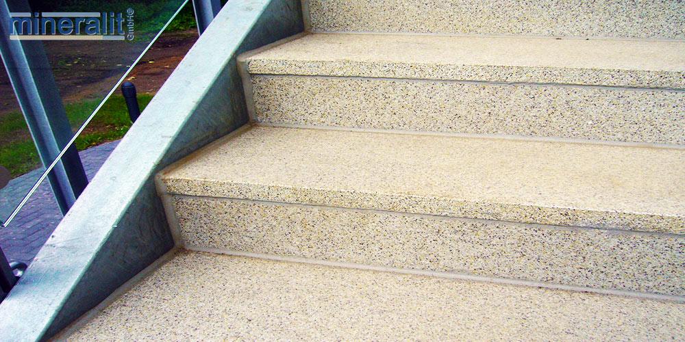 mineralit-Treppensanierung