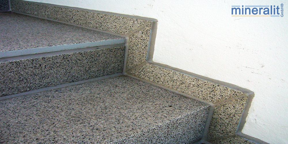 mineralit-Treppensanierungssystem