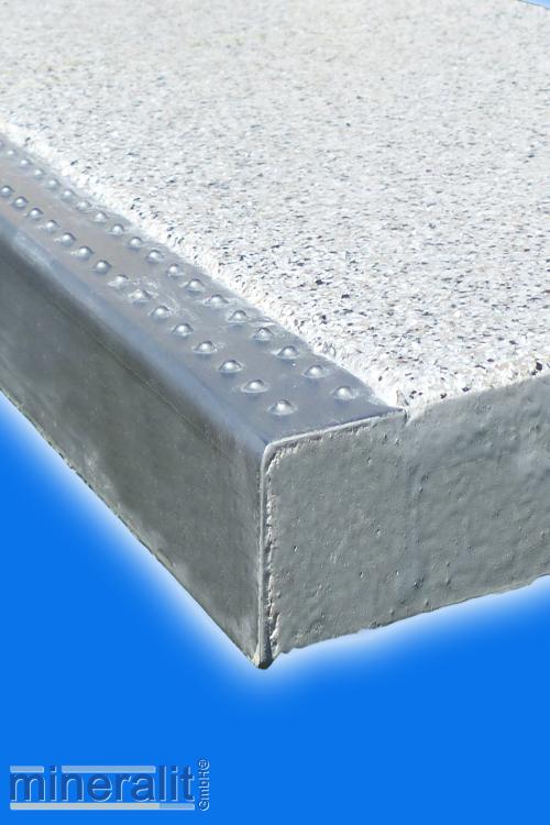 mineralit-Trittkantenschutz