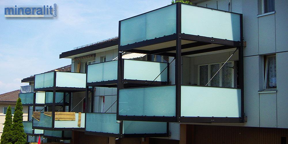 verschleißfeste freitragende-Balkonkonstruktion