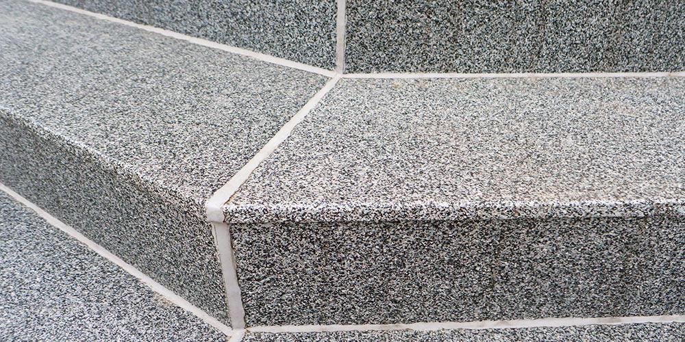 mineralit Plattenbelag Treppensanierung Referenzen