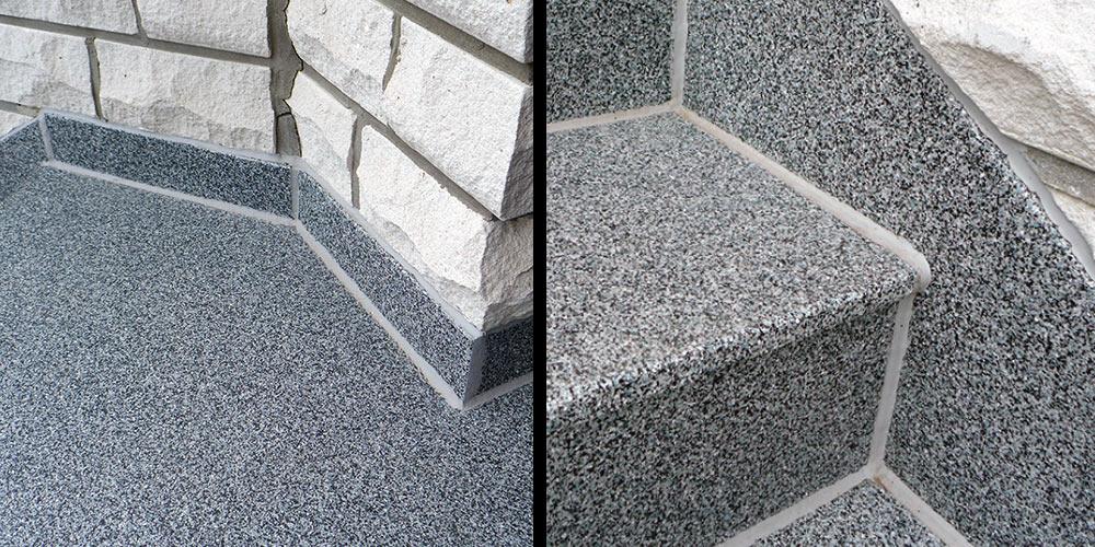 mineralit Treppenbelag für Treppensanierung Referenzen