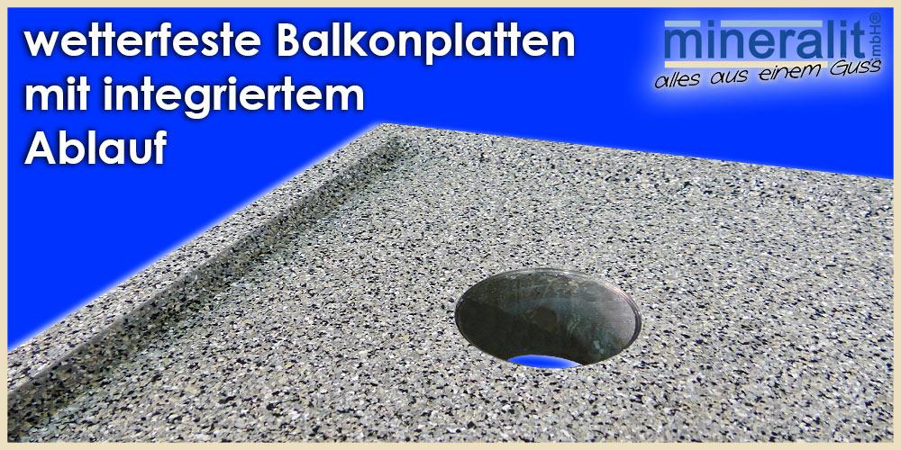 wetterfeste Balkonplatten