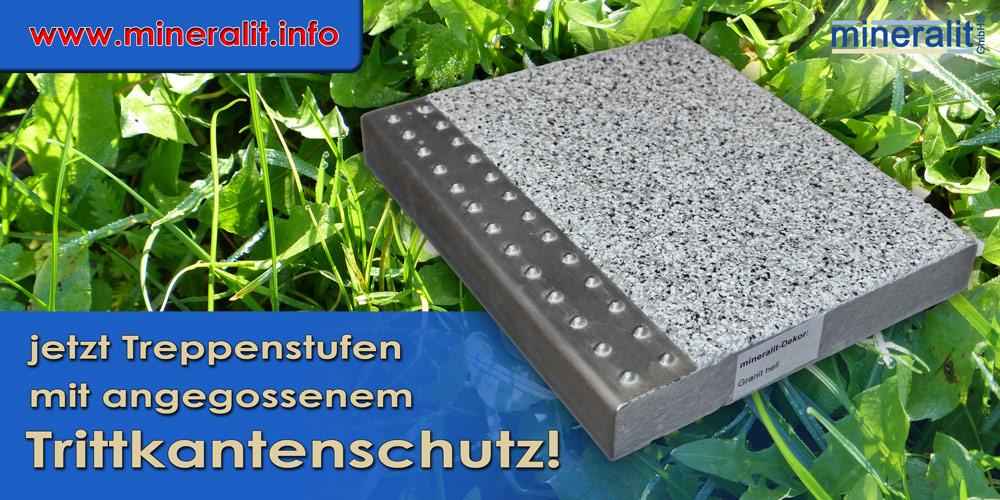 Sicherheit auf Treppen mit freitragenden Treppenstufen aus Polymerbeton