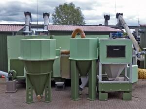 unser Wirbelschichttrockner zur Trocknung von entwässerten Klärschlämmen