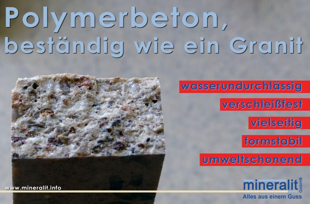 Prüfkörper Hochleistungsverbundwerkstoff Mineralit für Balkonplatten