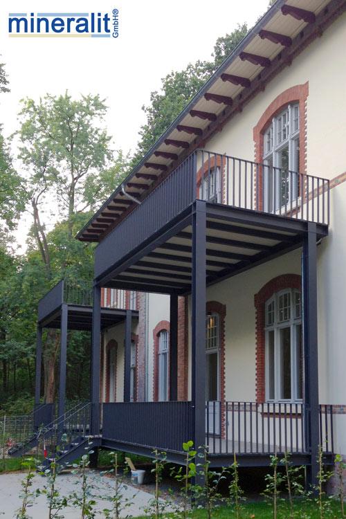 Balkonplatten Unterbau