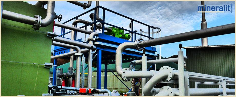 Separationsmodul von mineralit Trocknungsanlagen