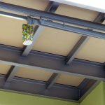 Mineralit Balkonplatten von unten auf Unterkonstruktion im Mehrfeldsystem