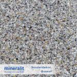 Sonderdekor für Plattenelemente aus Mineralit