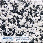 Standard Dekor für Plattenelemente aus Mineralit - gran canaria