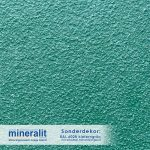 Sonderdekor für Plattenelemente aus Mineralit - Kieferngrün mit erhöhter Rutschfestigkeit