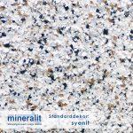 Standard Dekor für Plattenelemente aus Mineralit - Syenit