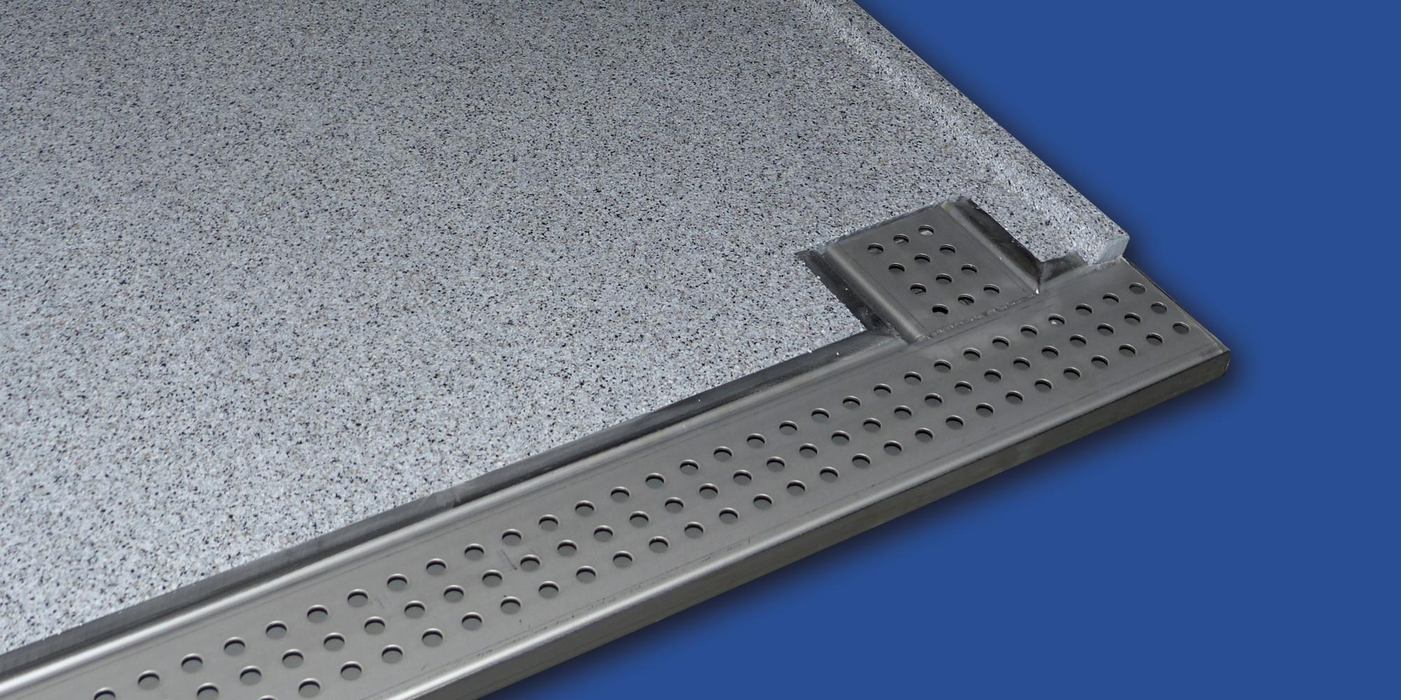 Bevorzugt Mineralit - Balkonbelag wasserdicht, verschleißfrei & individuell CL93