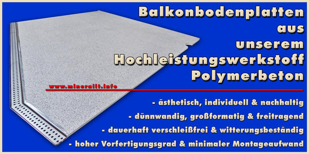 Balkonbodenplatten modern
