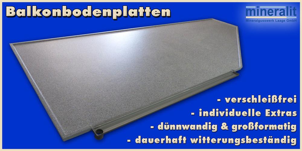Balkonplatten modern