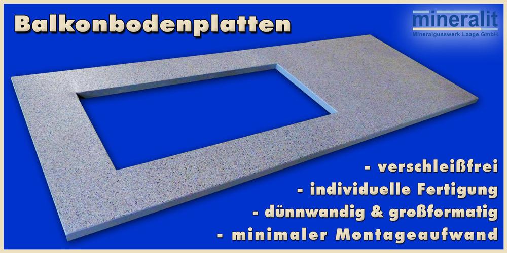 moderne Balkonbodenplatten