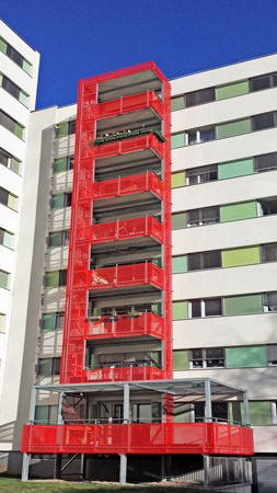 moderne Balkonplatten