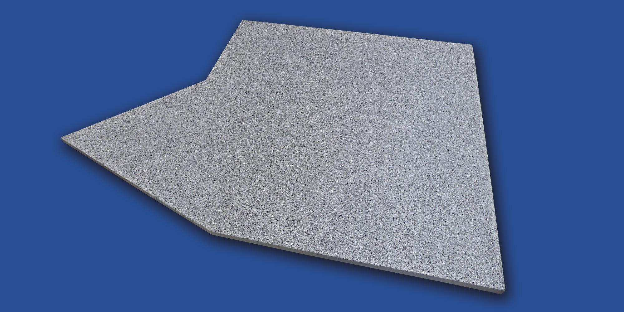 Relativ Mineralit - Balkonbelag wasserdicht, verschleißfrei & individuell YB42